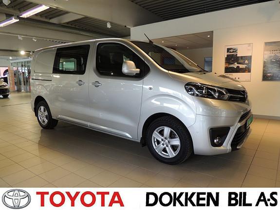 Toyota Proace 2,0 D 122 Comfort Plus L1H1  2018, 21000 km, kr 309000,-