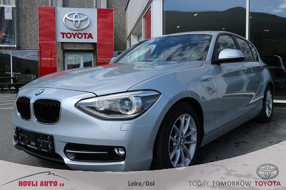 BMW 1-serie 116d EfficientDynamics Sport // DAB+ // Ny i Norge  2014, 45000 km, kr 149900,-