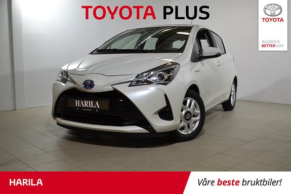 Toyota Yaris 1,5 Hybrid Active Go e-CVT aut  2017, 35460 km, kr 189000,-