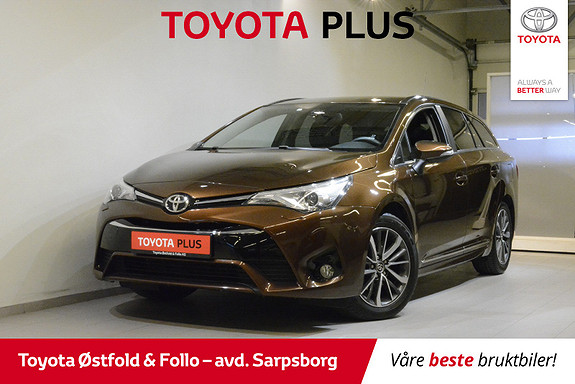 Toyota Avensis Touring Sports 1,6 D-4D Active  2016, 44500 km, kr 232000,-