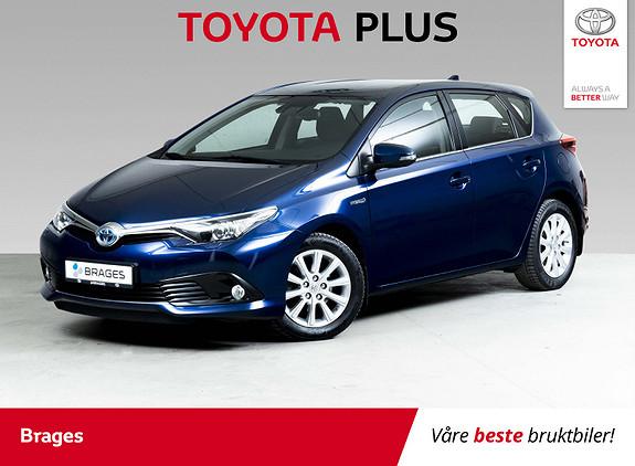 Toyota Auris 1,8 Hybrid E-CVT Active S Navi, Cruise, DAB+, R.kamera  2016, 44900 km, kr 185000,-