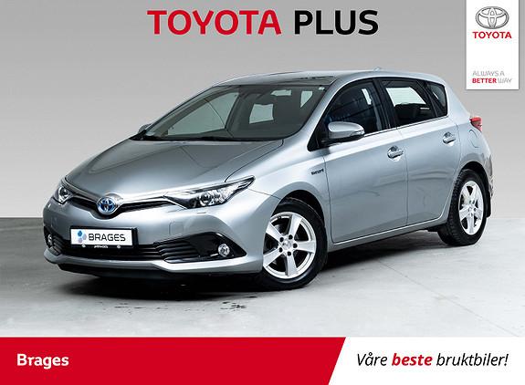 Toyota Auris 1,8 Hybrid E-CVT Active S Navi, R.kamera, DAB+, Cruise  2017, 41600 km, kr 199000,-