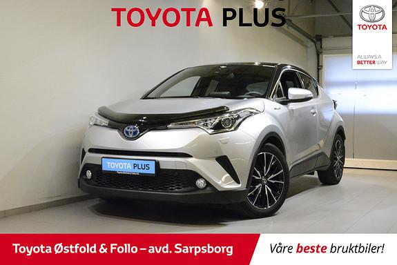 Toyota C-HR 1,8 WT-i Hybrid Supreme , NAVIGASJON,  2017, 44200 km, kr 298000,-