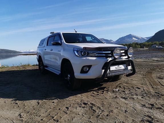 Toyota HiLux D-4D 150hk D-Cab 4WD SR+ aut  2016, 57596 km, kr 369000,-