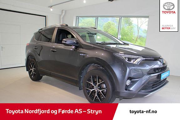 Toyota RAV4 Hybrid AWD Active Style LAV KM, strøken bil  2017, 26600 km, kr 425000,-
