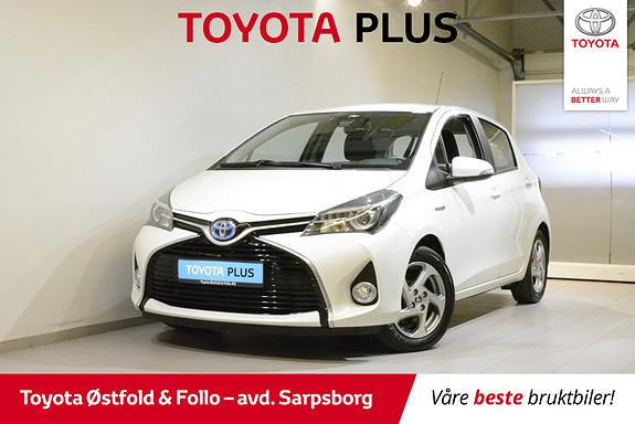 Toyota Yaris 1,5 Hybrid Active e-CVT , SAFETY SENSE,  2016, 49200 km, kr 165000,-