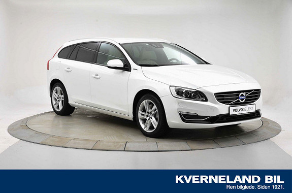 Volvo V60 D5 Special Edition Twin Engine Ryggekam|Navi|LAV KM  2016, 32325 km, kr 363000,-