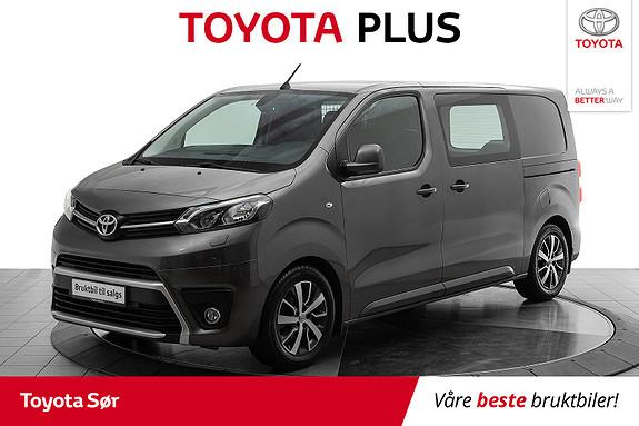 Toyota Proace 1,6 D 115 Comfort Medium L1H1 m/hengerfeste  2016, 38500 km, kr 219000,-