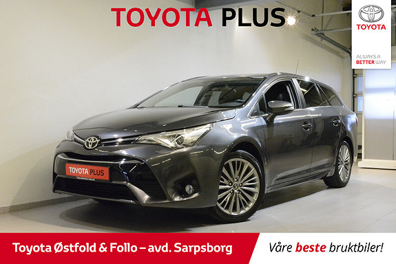 Toyota Avensis Touring Sports 1,8 Active Style M-drive 7S ,HENGERFESTE  2016, 53600 km, kr 265000,-