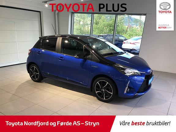 Toyota Yaris 1,5 Hybrid Bi Tone Blue e-CVT aut  2018, 6831 km, kr 234000,-