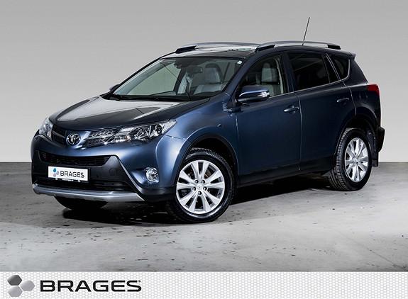 Toyota RAV4 2,2 D-4D 4WD Exective Navi, DAB, Skinn, Takluke, Kamera  2013, 81500 km, kr 269000,-