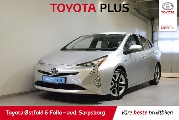 Toyota Prius 1,8 VVT-i Hybrid Executive , SKINNSETER / JBL,  2016, 32800 km, kr 235000,-