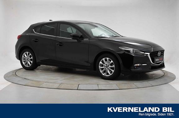 Mazda 3 2,0 120hk Optimum aut TOPPUTSTYRT  2018, 17270 km, kr 269000,-
