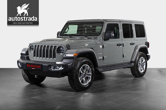 Jeep Wrangler 2.0 T 270hk Sahara Aut. AWD 2.996,- eks.mva.(!)  2019, 10 km