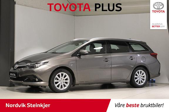 Toyota Auris 1,8 Hybrid E-CVT Active S 2 års service INK!  2016, 28200 km, kr 239000,-
