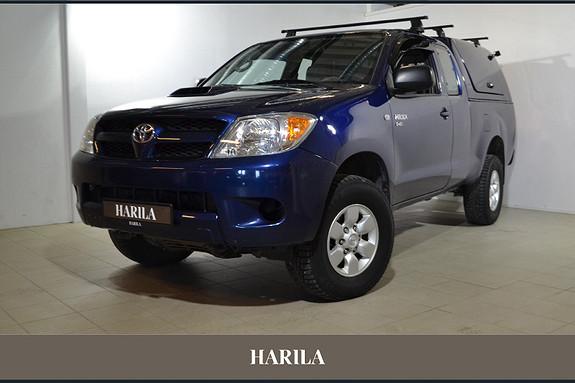 Toyota HiLux D-4D 120hk X-Cab 4wd  2007, 232137 km, kr 139000,-