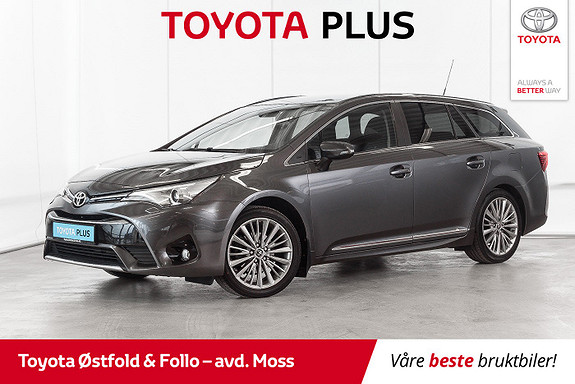 Toyota Avensis Touring Sports 1,8 Active Style M-drive 7S /HENGERFESTE  2016, 40600 km, kr 268000,-
