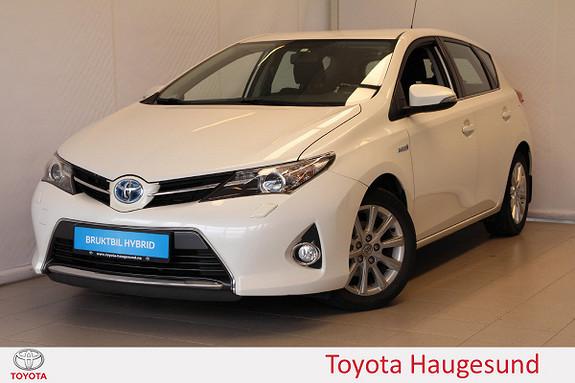 Toyota Auris 1,8 Hybrid E-CVT Active Navi, kamera, B/T, DAB+, Tectyl  2013, 49000 km, kr 160000,-