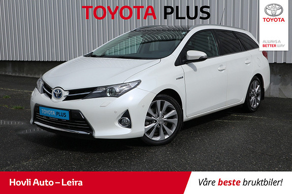 Toyota Auris Touring Sports 1,8 Hybrid Executive // Tectylert //  2014, 69086 km, kr 199900,-