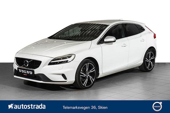 "Volvo V40 T2 R-Design Ryggekamera/Navi/18""/Parkeringsvarmer"