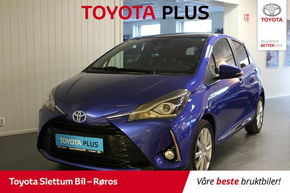 Toyota Yaris 1,5 Hybrid Style + e-CVT aut TOPPMODELL  2017, 26134 km, kr 215000,-
