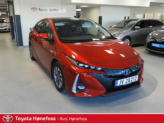Toyota Prius Plug-in Hybrid 1,8 VVT-i Solar PHV Solcelletak, Matrix LED-lys  2018, 14085 km, kr 284000,-