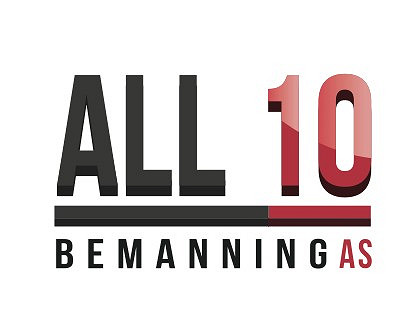 ALL10 BEMANNING AS