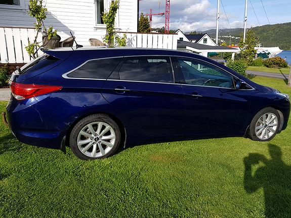 Hyundai i40 1,7 CRDi 115hk Premium Skinn, ryggekamera, hengerfeste,  2012, 98281 km, kr 109000,-