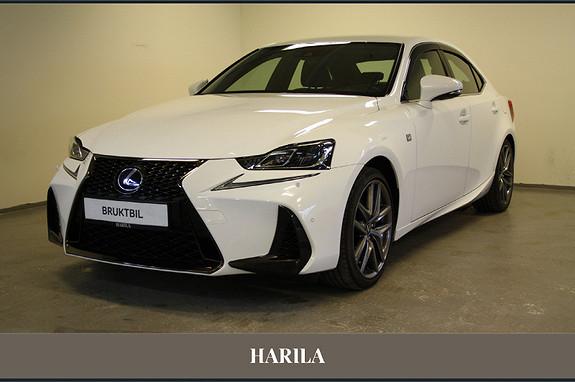 Lexus IS 300h F Sport  2017, 28125 km, kr 449000,-