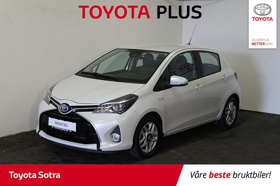 Toyota Yaris 1,5 Hybrid Active S e-CVT  2016, 41400 km, kr 189000,-
