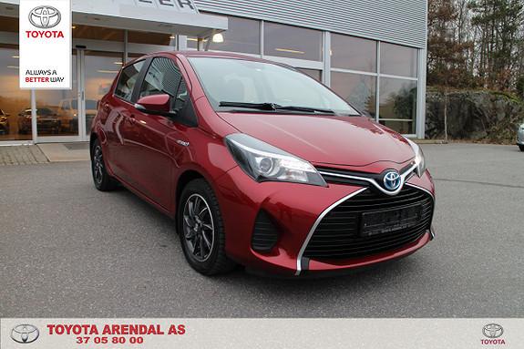 Toyota Yaris 1,5 Hybrid Active e-CVT 1 eier lav km stand  2014, 49500 km, kr 139000,-