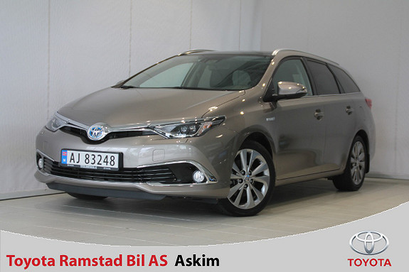 Toyota Auris Touring Sports 1,8 Hybrid Executive Facelift Toppmodell  2015, 23 400 km, kr 249 000,-