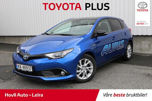 Toyota Auris 1,8 Hybrid E-CVT Sport Vision // Lakkforseglet //  2018, 10500 km, kr 249900,-