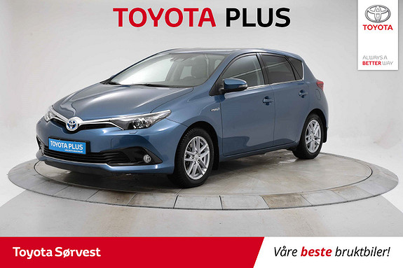 Toyota Auris 1,8 Hybrid E-CVT Active  2017, 35839 km, kr 209000,-