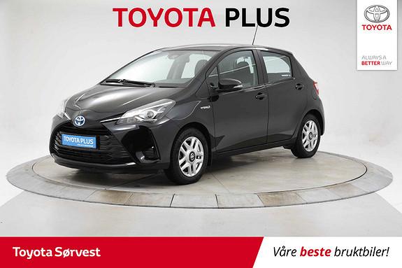 Toyota Yaris 1,5 Hybrid Active e-CVT  2017, 42172 km, kr 169000,-