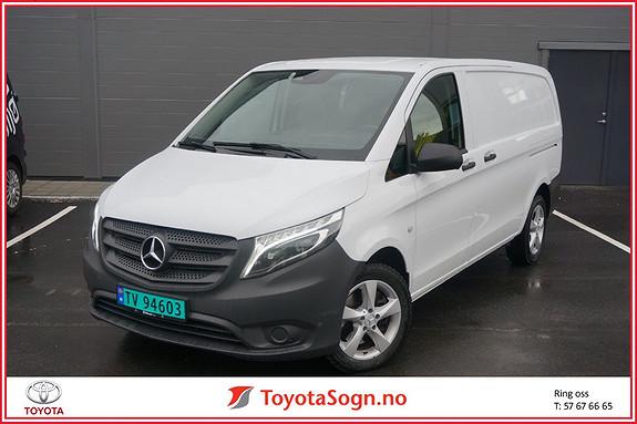 Mercedes-Benz Vito V119 4X4 A2 Lang aut 190hk, Webasto  2018, 17000 km, kr 469000,-