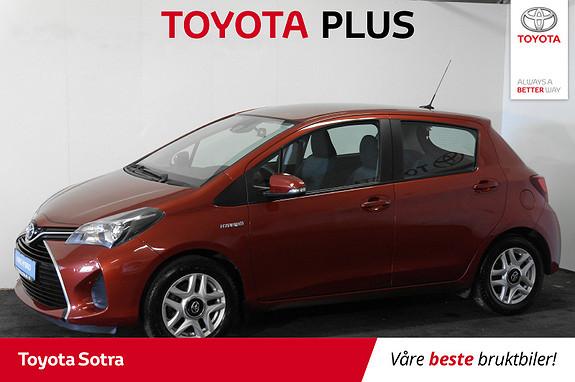 Toyota Yaris 1,5 Hybrid Active e-CVT  2015, 74000 km, kr 149000,-
