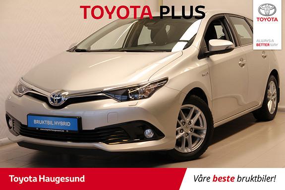 Toyota Auris 1,8 Hybrid E-CVT Active  2017, 27825 km, kr 229000,-