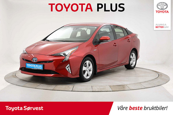 Toyota Prius 1,8 VVT-i Hybrid Executive  2016, 37142 km, kr 229000,-