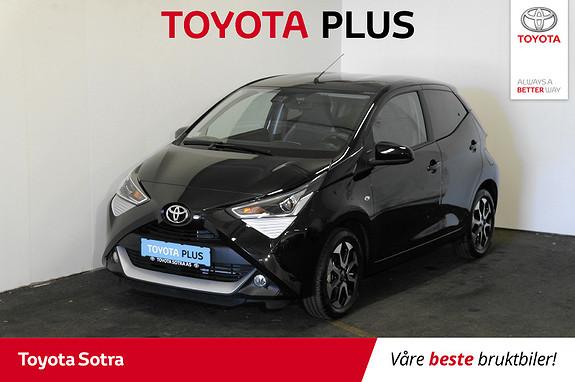Toyota Aygo x-play+ 1.0  2018, 500 km, kr 169000,-