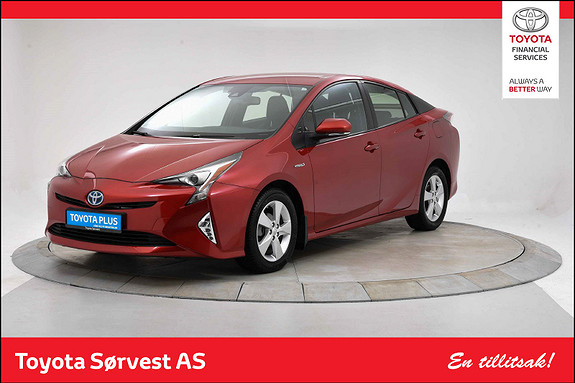 Toyota Prius 1,8 VVT-i Hybrid Active Style Lav km!  2017, 7251 km, kr 269000,-