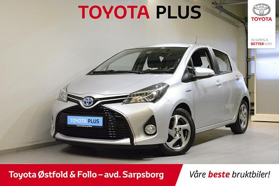 Toyota Yaris 1,5 Hybrid Active S e-CVT , SAFETY SENSE/CRUISECONTR.,  2015, 51400 km, kr 155000,-