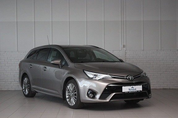 Toyota Avensis Touring Sports 1,6 D-4D Active Style Panorama, Skinn ++  2016, 31500 km, kr 249000,-