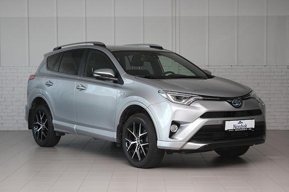 Toyota RAV4 Hybrid 2WD Active Style Delskinn, Navi ++  2017, 39800 km, kr 379000,-
