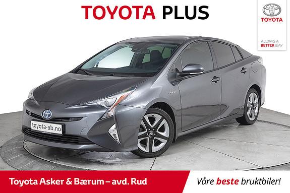 Toyota Prius 1,8 VVT-i Hybrid Executive Hengerfeste  2016, 74400 km, kr 232000,-