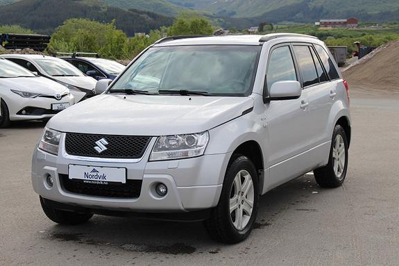 Suzuki Grand Vitara 1,9 DDiS SE SKINNSETER, DAB+ RADIO, KROK, TAKLUKE  2005, 185627 km, kr 74000,-
