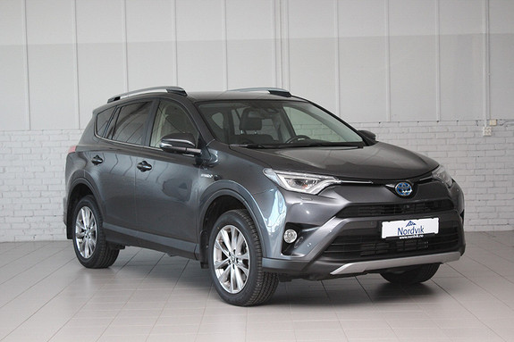 Toyota RAV4 Hybrid AWD Executive 360*, JBL, Navi ++  2018, 19800 km, kr 459000,-