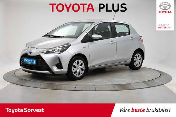 Toyota Yaris 1,5 Hybrid Life e-CVT aut  2017, 27818 km, kr 169000,-