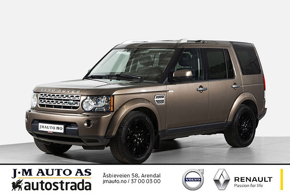 Land Rover Discovery 4 3,0 TD V6 HSE 180kw Topp Utstyrt!