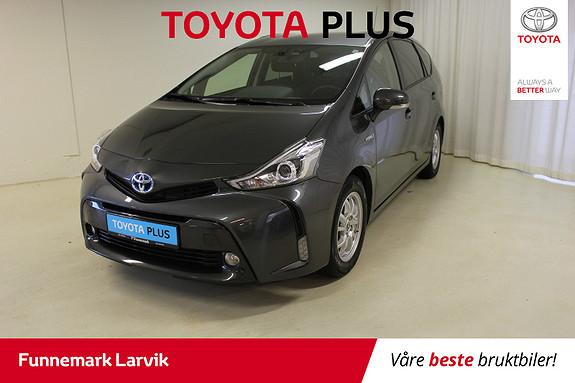Toyota Prius+ Seven 1,8 VVT-i Hybrid Executive  2016, 50000 km, kr 259000,-